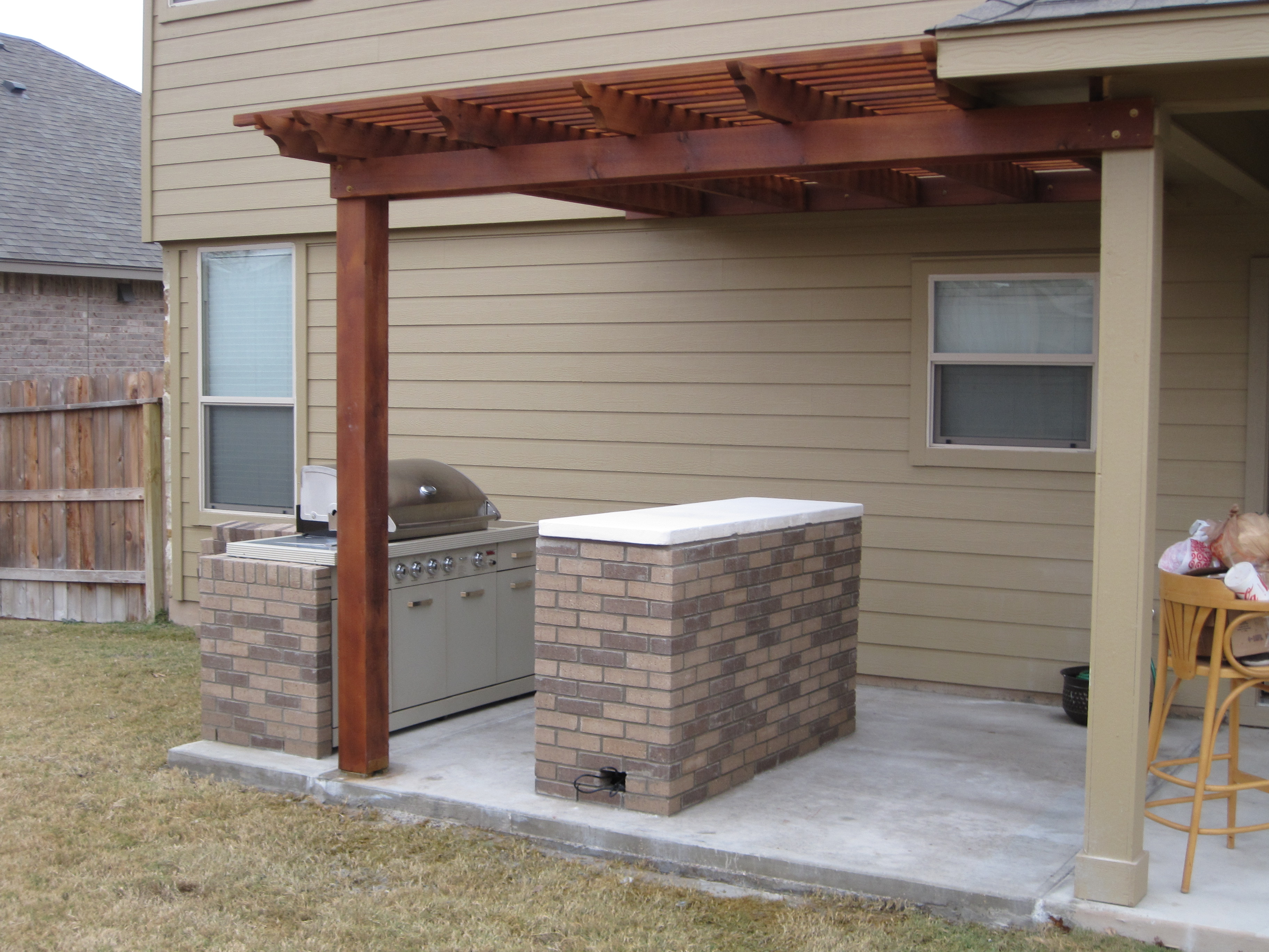 Great Outdoors Ford Service Co - Patio addition